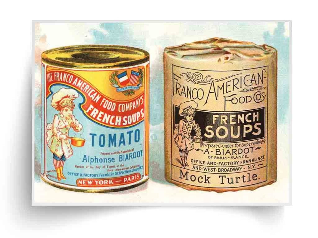 Franco-American Food products