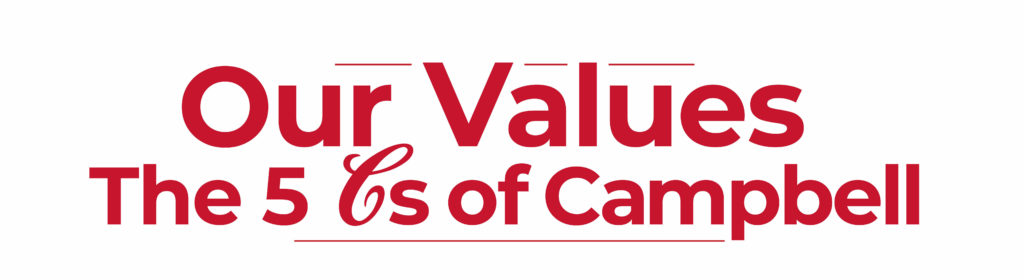 Campbell Values: The 5 Cs of Campbell